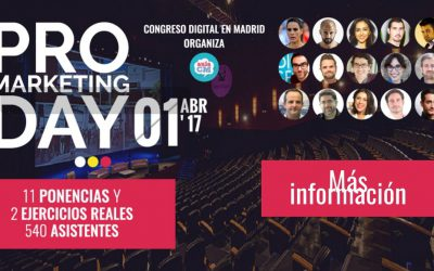¿Eres un pro del marketing? Quiero verte en el Pro Marketing Day