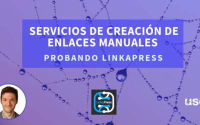 Servicios de creación de enlaces: probando Linkapress