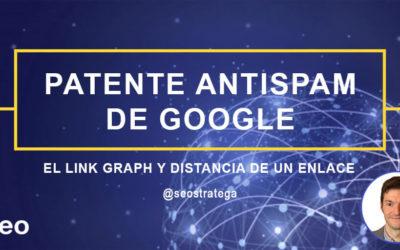 La patente anti-spam de Google: link graph y distancias de enlaces